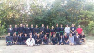 Trening, učesnici kampa