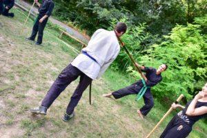 Trening, Naginata