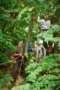 Pravljenje alpinističkog poligona