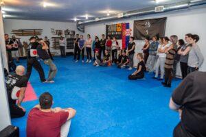 Samoodbrana za zene i decu u Novom Sadu, Jevrejska 22